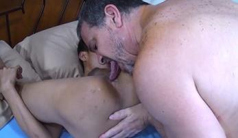 Gay Porn Daddy Barebacks Asian Boy 18yo