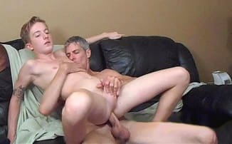 18 year old FUCKED Bareback by father – Gay Real Incest