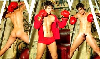 Hercules Mataveli, beautiful and hot Brazilian model, 18 years