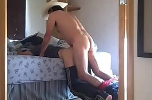 Gay amateur video – Cowboy fucking the boss son