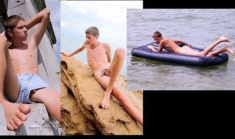Enigmatic boys gay nudist – Oliver naked on the beach and jacking at home