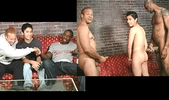 Gay casting – boy gets assfucked by black men