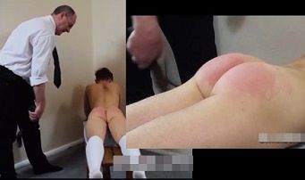 British Boys – Father punishes son after class