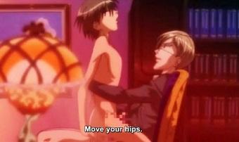 Hentai gay porn young hentai guy riding a old hard cock